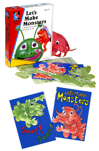 Lets Make Monsters - Hine & Limbrick Living & Learning 1991.